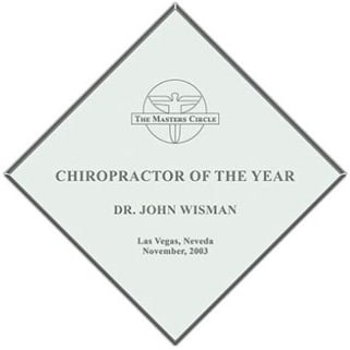 CHIROPRACTOR oF the Year
